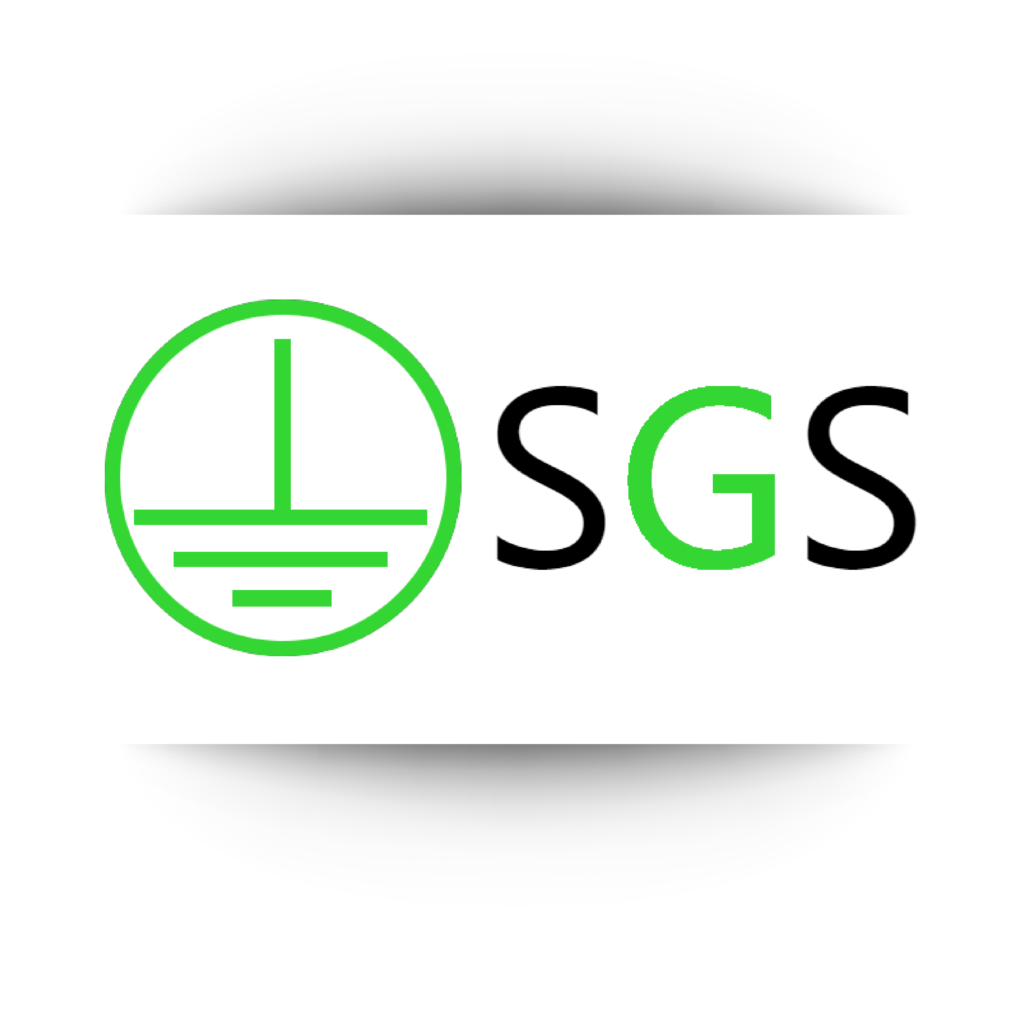 SGS grounding shafts devices logo