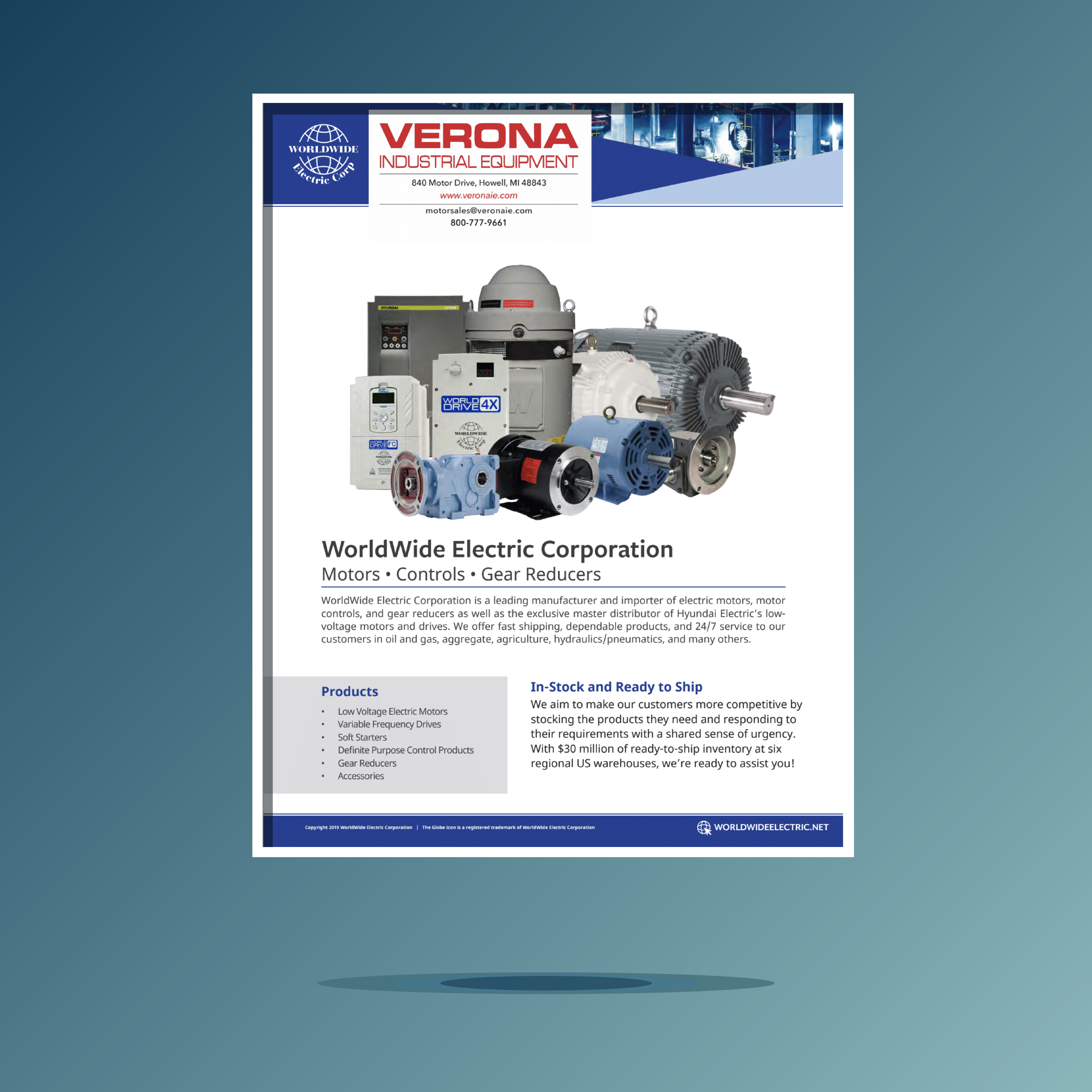 worldwide electric corp-motors-controls-gears product catalog cover-01