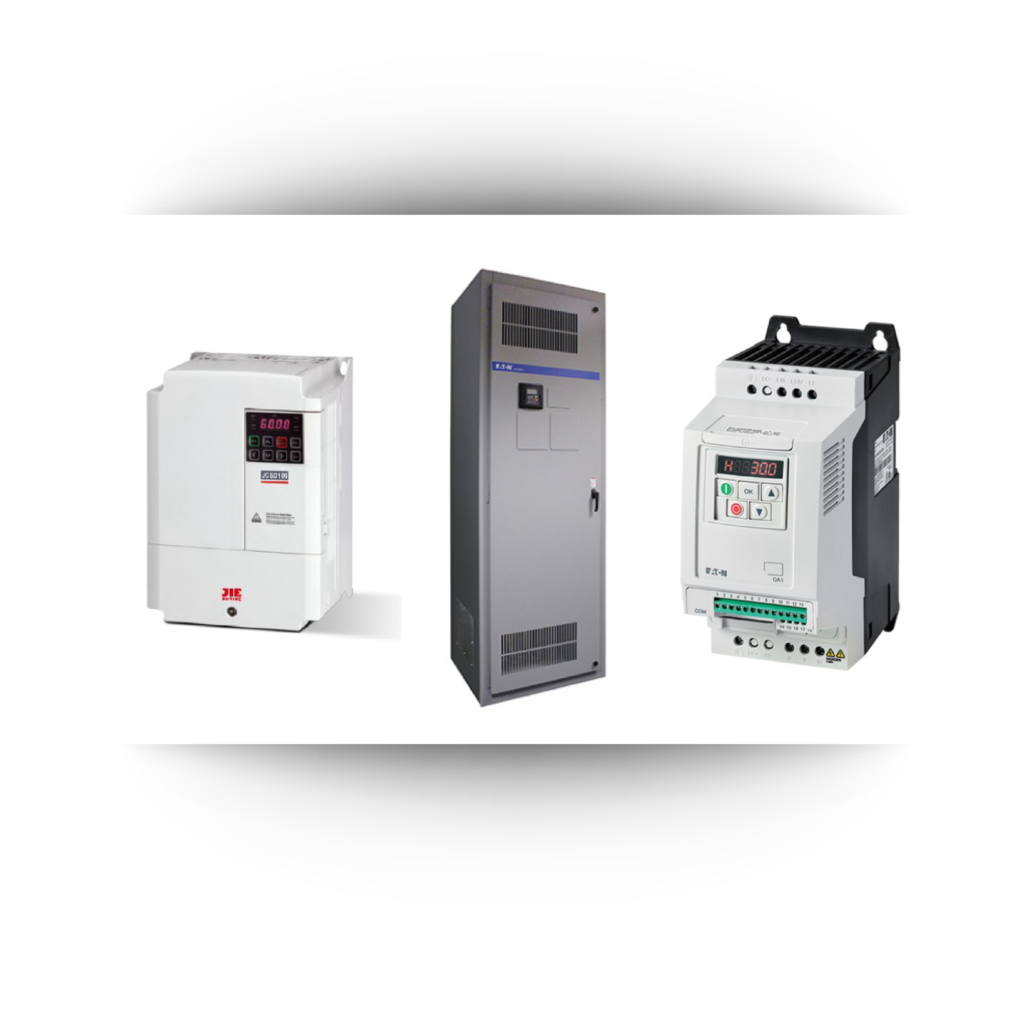 VFD products over background